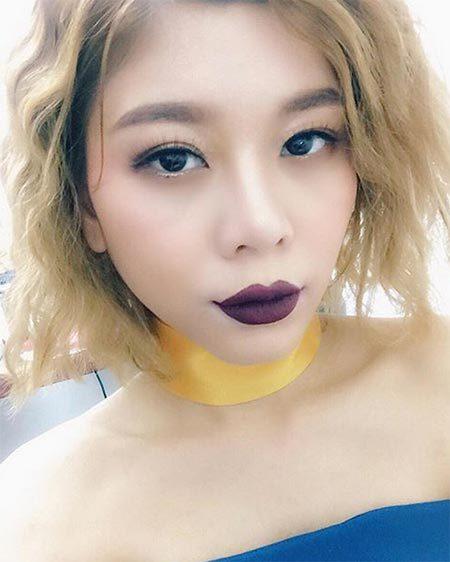 ดาราทาปากสีม่วง