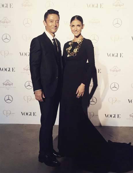 ซินดี้ สิรินยา งาน Vogue Gala