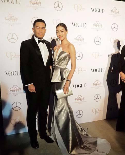 แพนเค้ก เขมนิจ งาน Vogue Gala