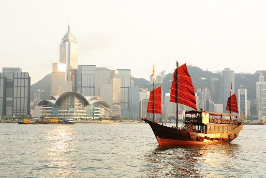 เกาะฮ่องกง ประเทศจีน