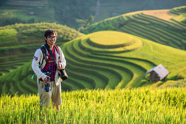 Rice terraces Vietnam