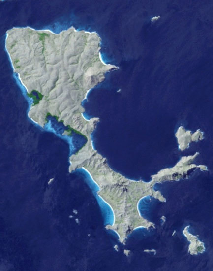 13 เกาะสวยรูปร่างแปลกจากทั่วโลก